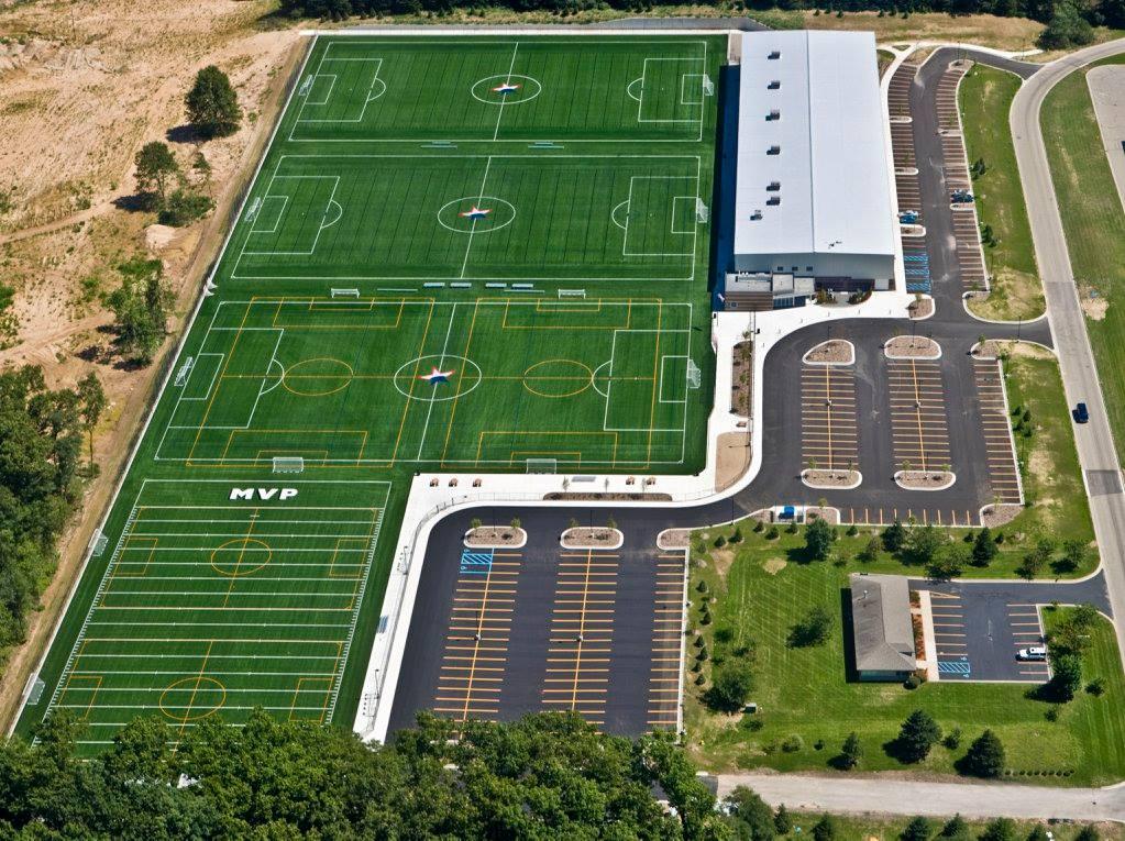 MSA Fieldhouse Field View